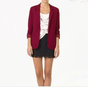 Aritzia Talula Kent open flowy blazer jacket